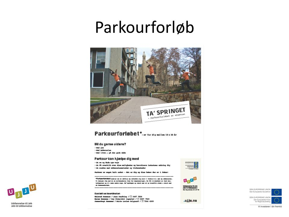Parkourforløb