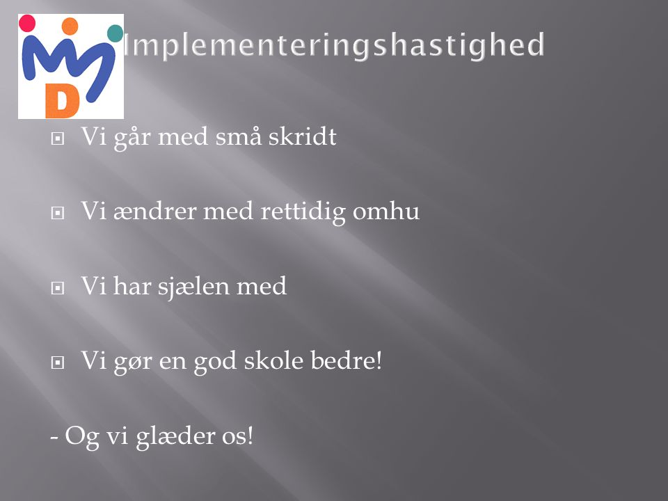 Implementeringshastighed