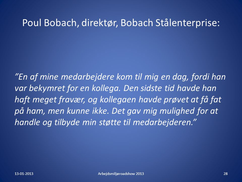 Poul Bobach, direktør, Bobach Stålenterprise: