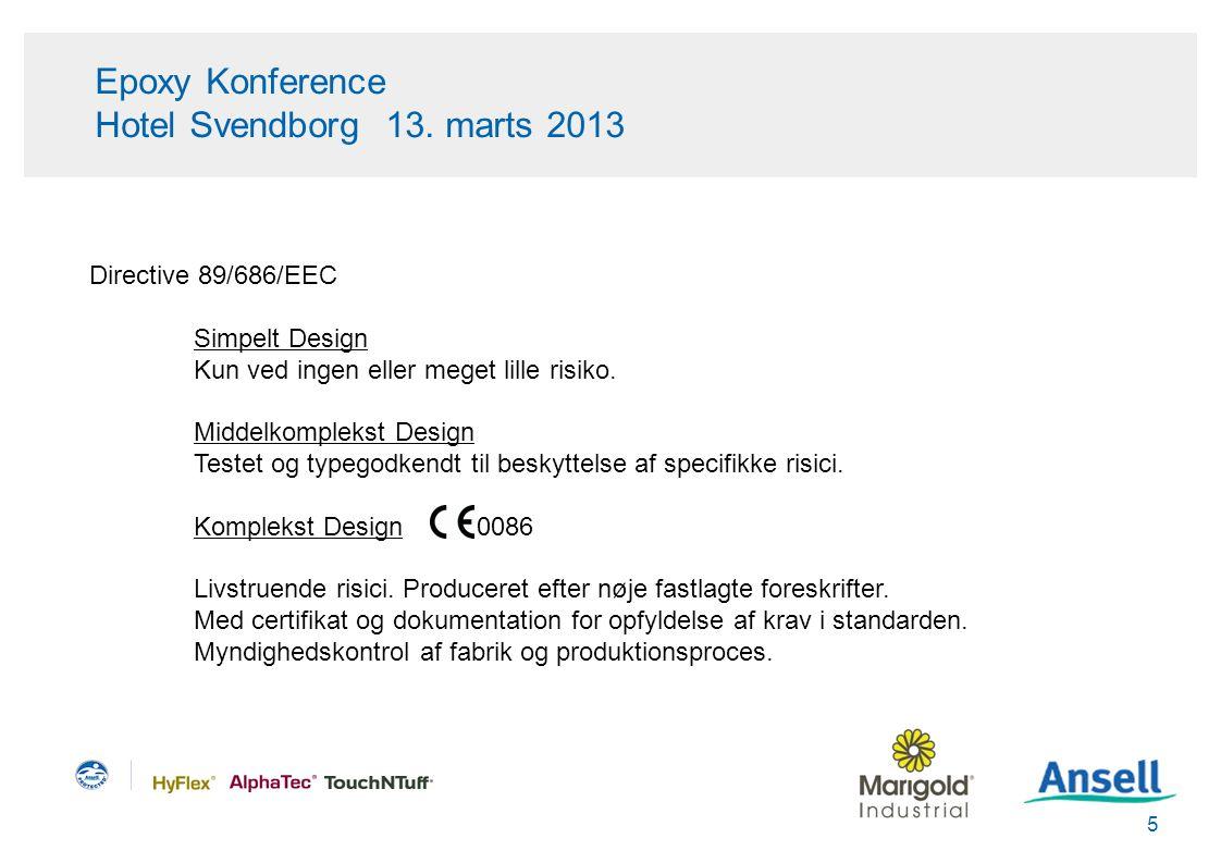 Epoxy Konference Hotel Svendborg 13. marts 2013