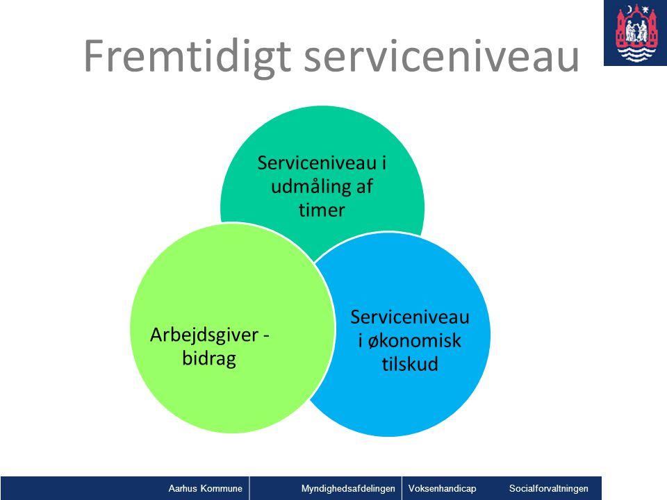 Fremtidigt serviceniveau