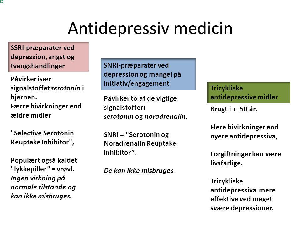 Antidepressiv medicin