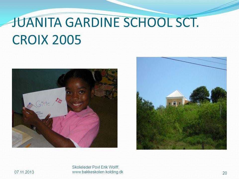 JUANITA GARDINE SCHOOL SCT. CROIX 2005