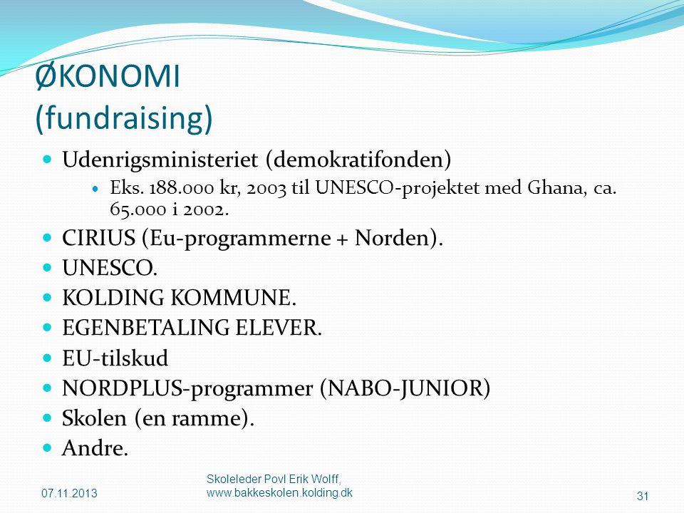 ØKONOMI (fundraising)