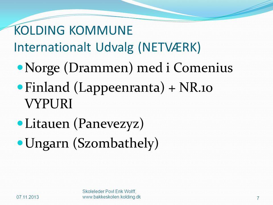 KOLDING KOMMUNE Internationalt Udvalg (NETVÆRK)