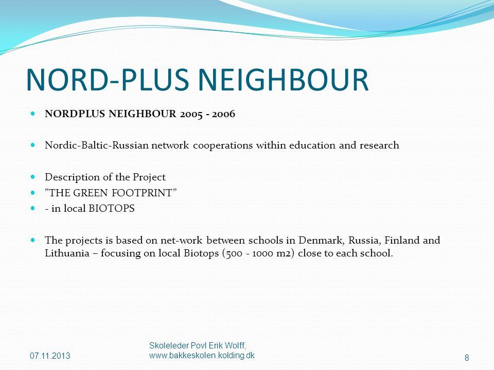 NORD-PLUS NEIGHBOUR NORDPLUS NEIGHBOUR 2005 - 2006