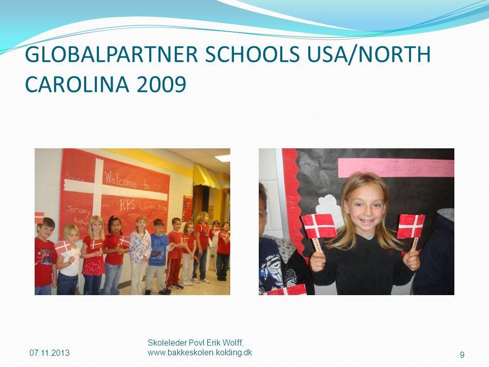GLOBALPARTNER SCHOOLS USA/NORTH CAROLINA 2009
