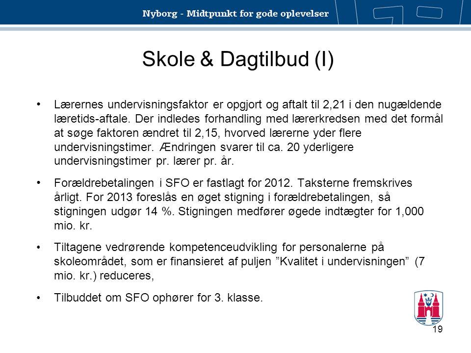 Skole & Dagtilbud (I)