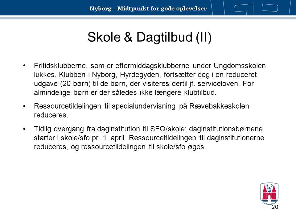 Skole & Dagtilbud (II)