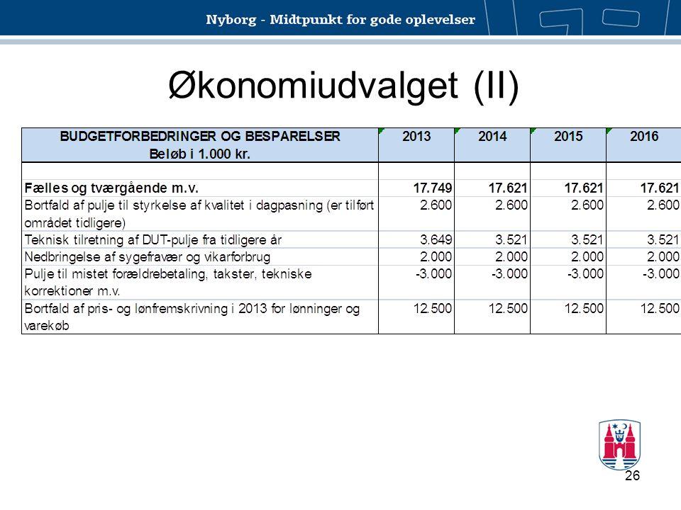 Økonomiudvalget (II)