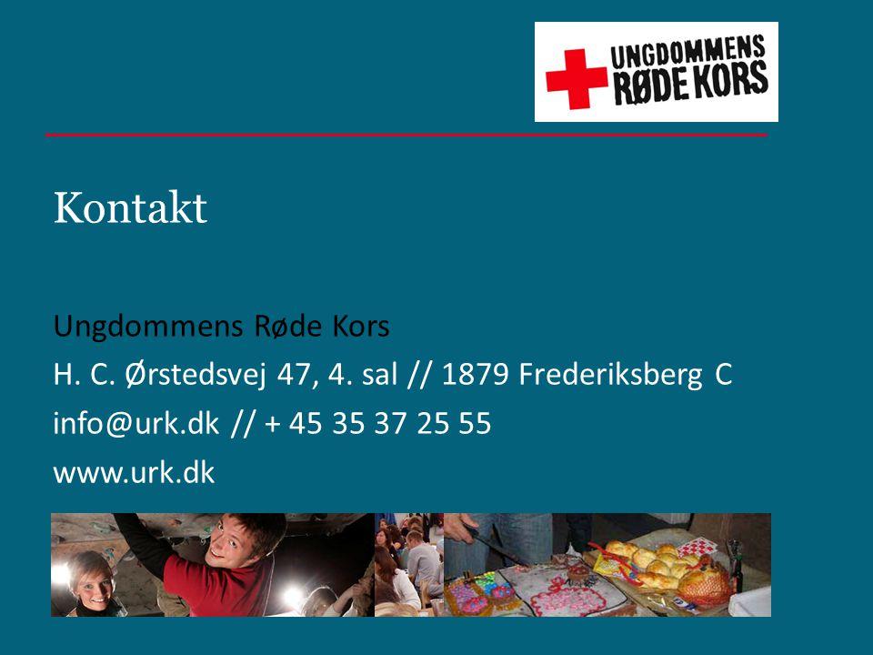 Kontakt Ungdommens Røde Kors