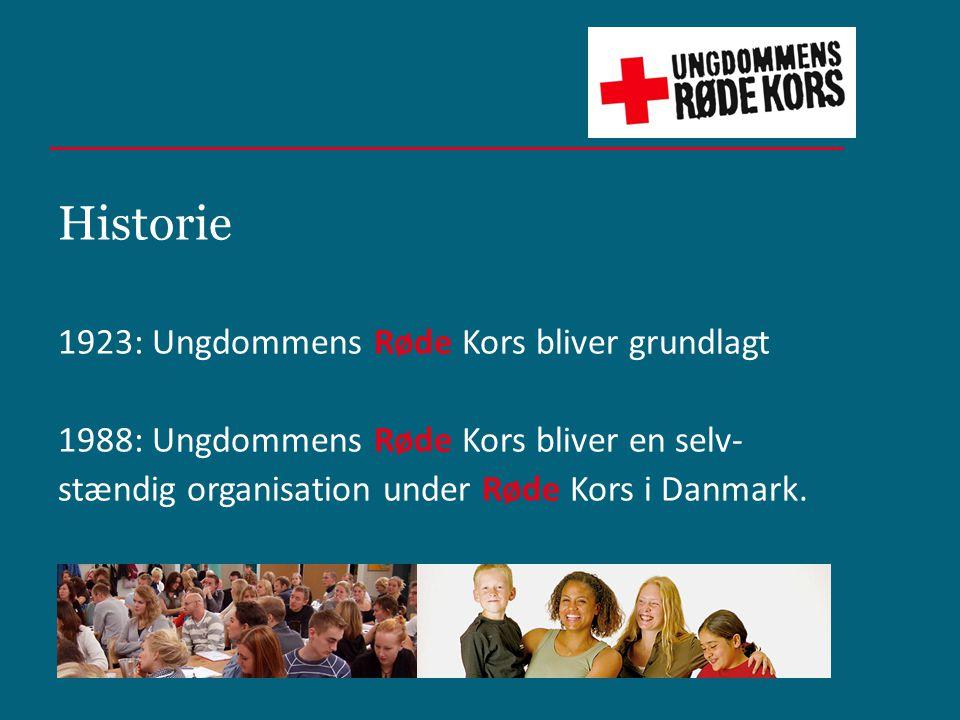 Historie 1923: Ungdommens Røde Kors bliver grundlagt