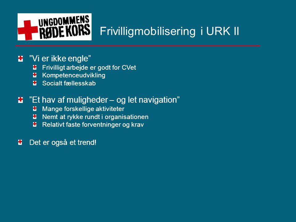 Frivilligmobilisering i URK II