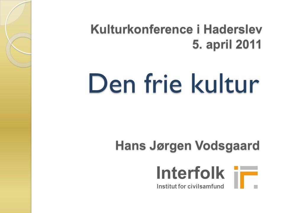 Kulturkonference i Haderslev 5. april 2011