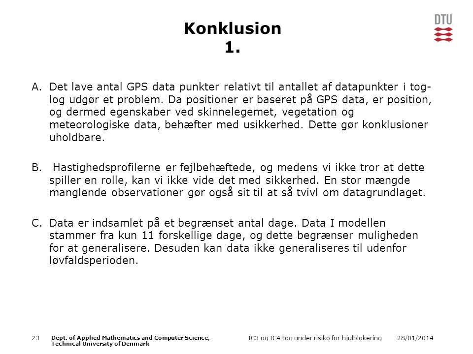 Konklusion 1.