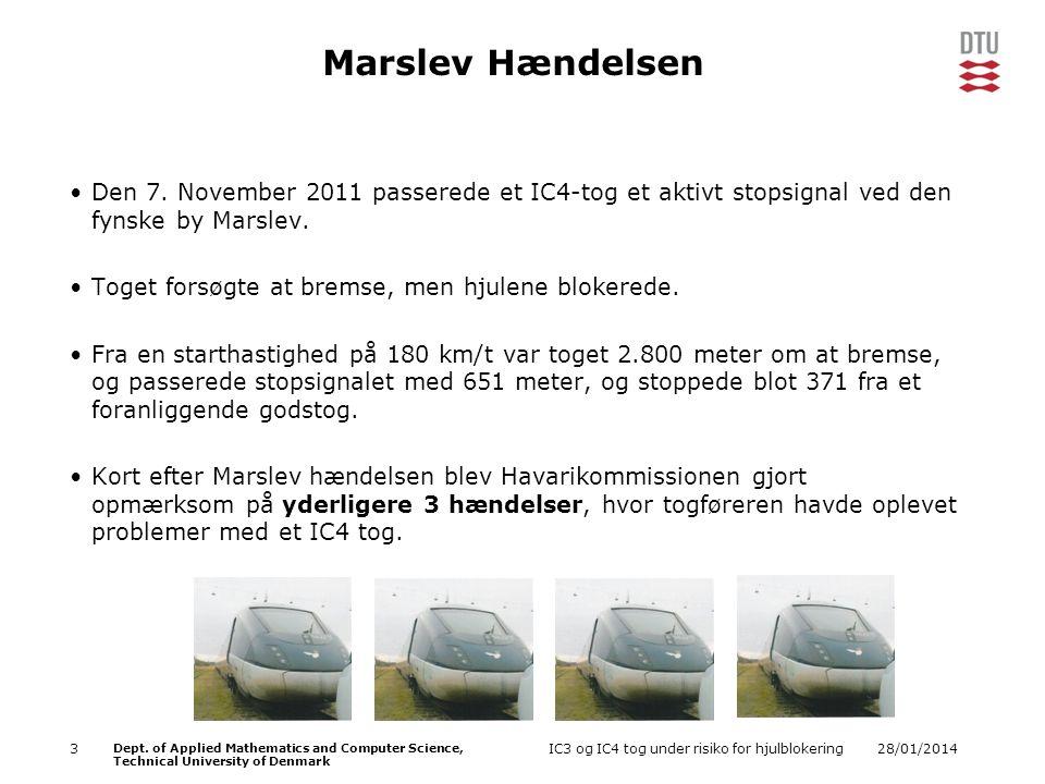 Marslev Hændelsen Den 7. November 2011 passerede et IC4-tog et aktivt stopsignal ved den fynske by Marslev.