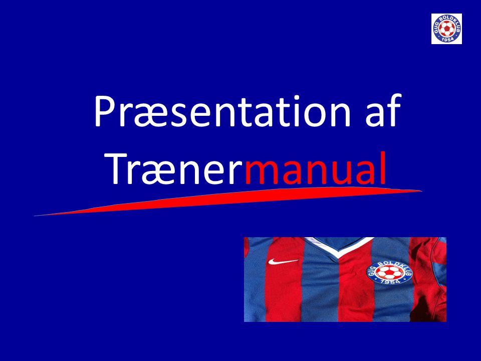 Præsentation af Trænermanual