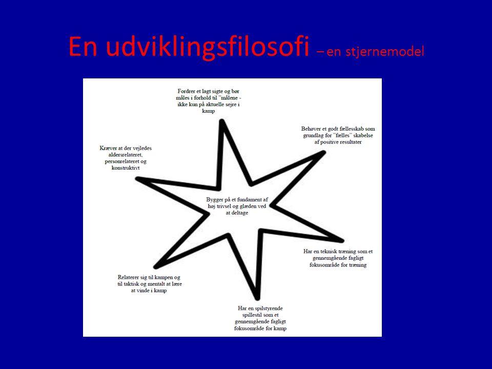 En udviklingsfilosofi – en stjernemodel