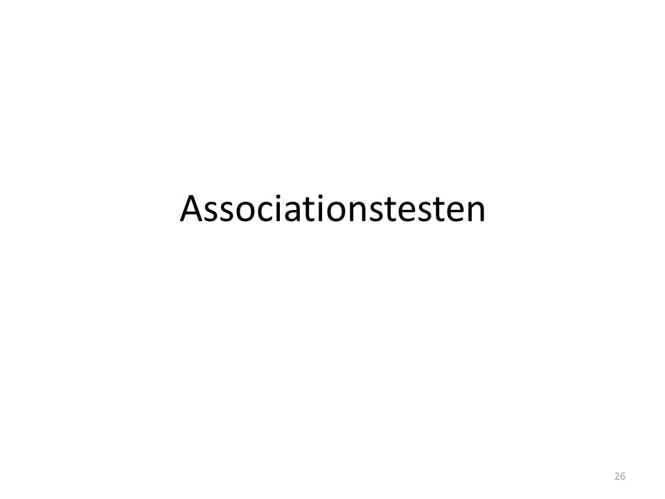 Associationstesten