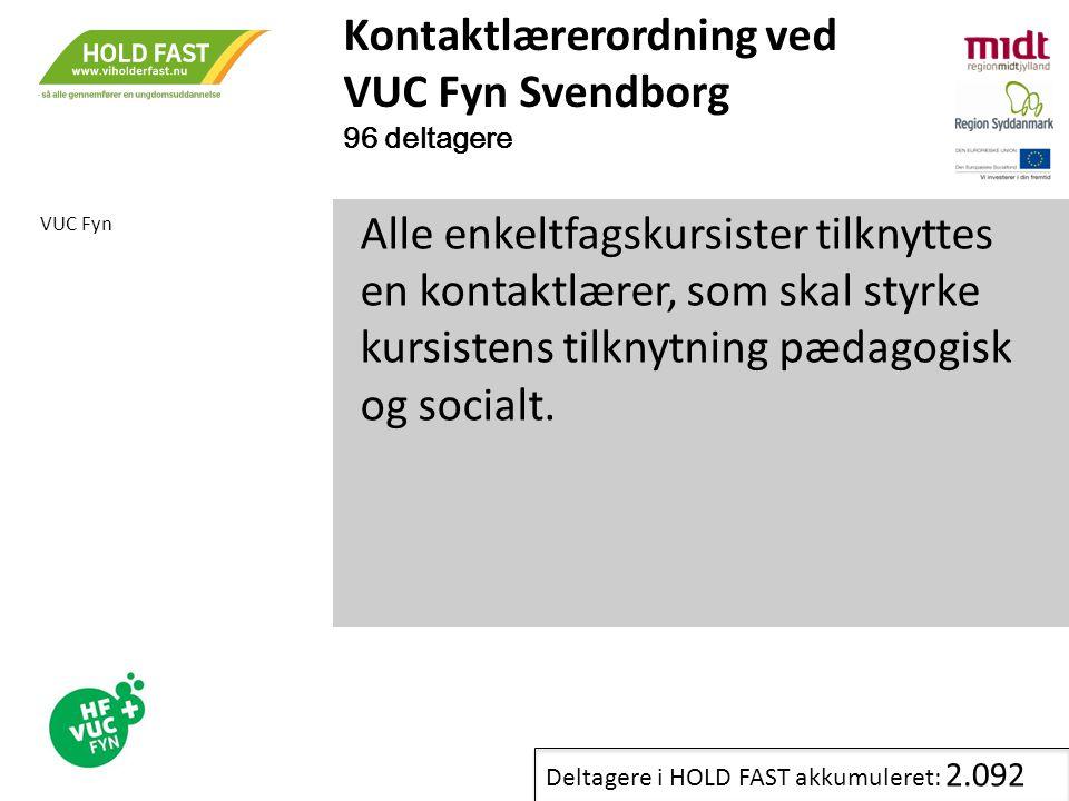 Kontaktlærerordning ved VUC Fyn Svendborg