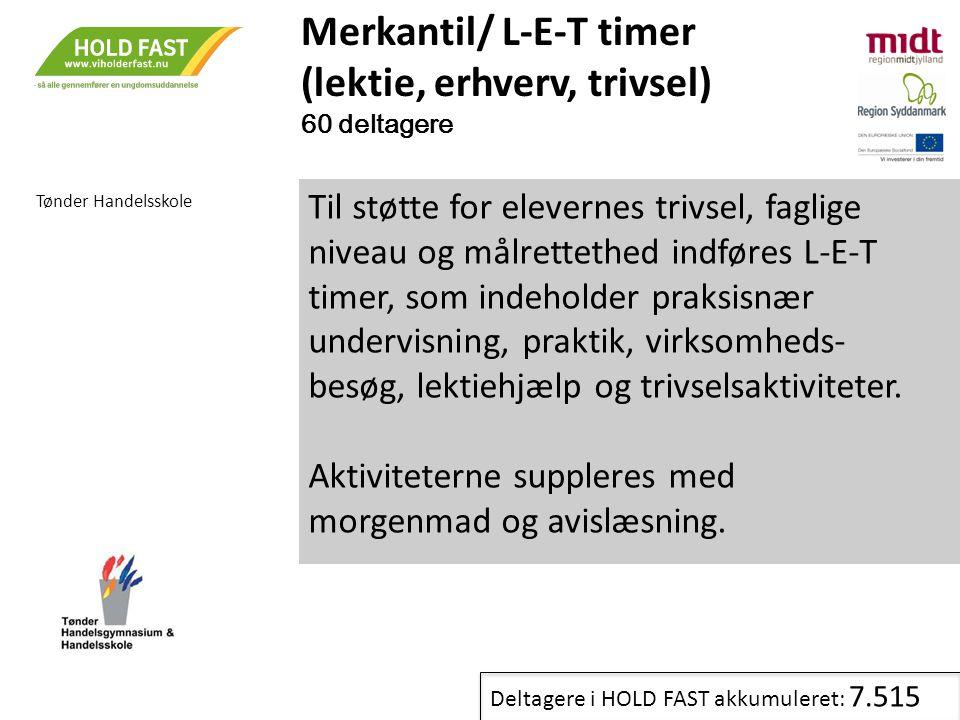 Merkantil/ L-E-T timer (lektie, erhverv, trivsel)