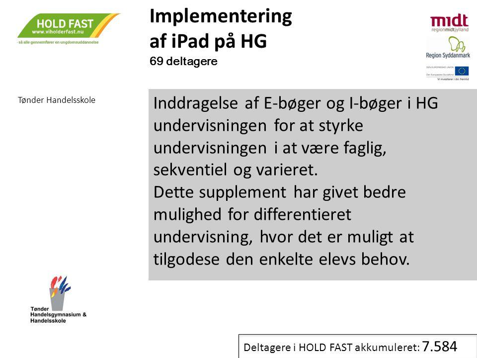 Implementering af iPad på HG