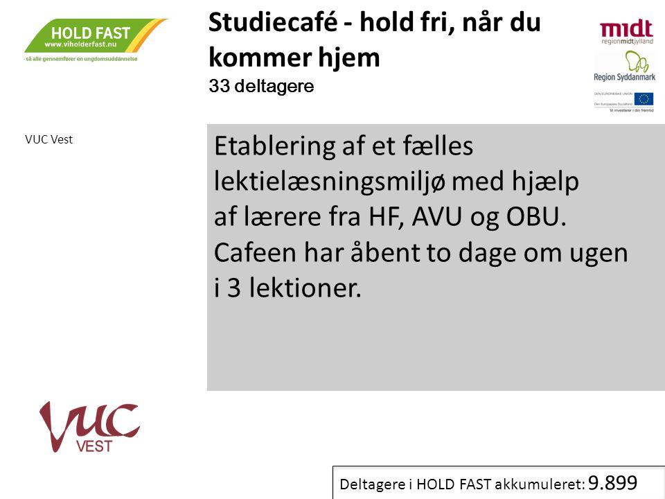 Studiecafé - hold fri, når du kommer hjem