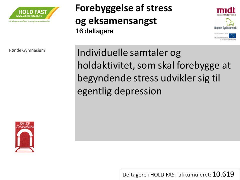 Forebyggelse af stress og eksamensangst