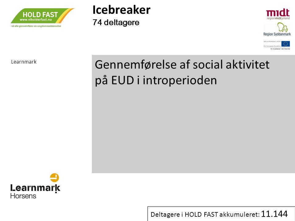 Gennemførelse af social aktivitet på EUD i introperioden