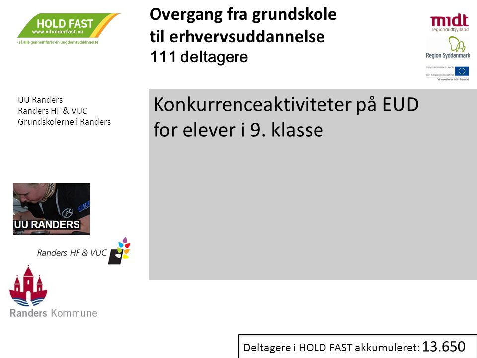 Konkurrenceaktiviteter på EUD for elever i 9. klasse