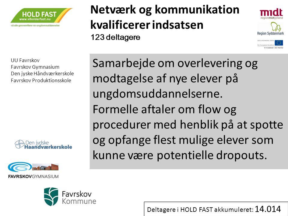 Netværk og kommunikation kvalificerer indsatsen