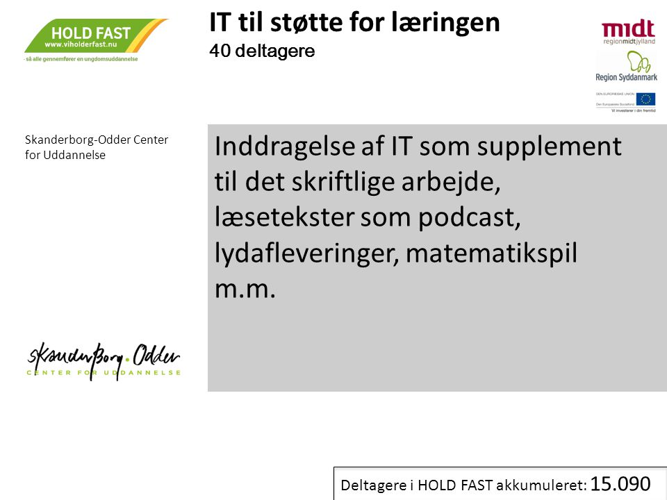 IT til støtte for læringen