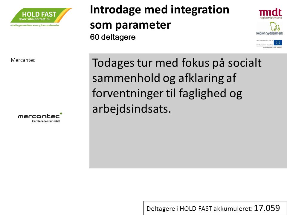 Introdage med integration som parameter