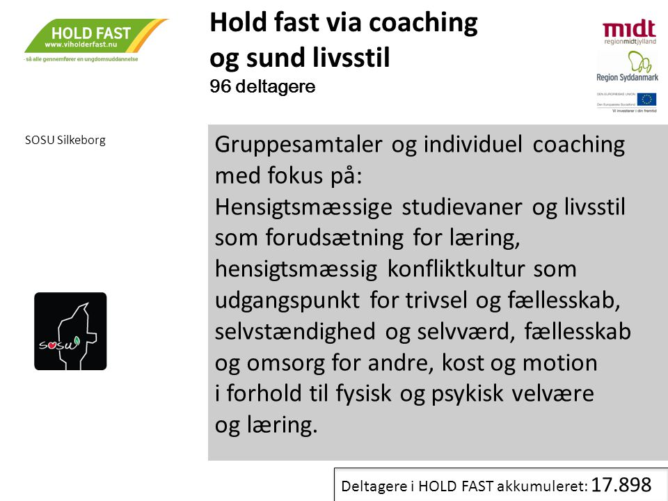 Hold fast via coaching og sund livsstil
