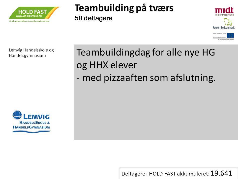 Teambuildingdag for alle nye HG og HHX elever