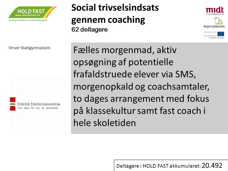 Social trivselsindsats gennem coaching