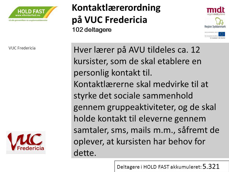 Kontaktlærerordning på VUC Fredericia