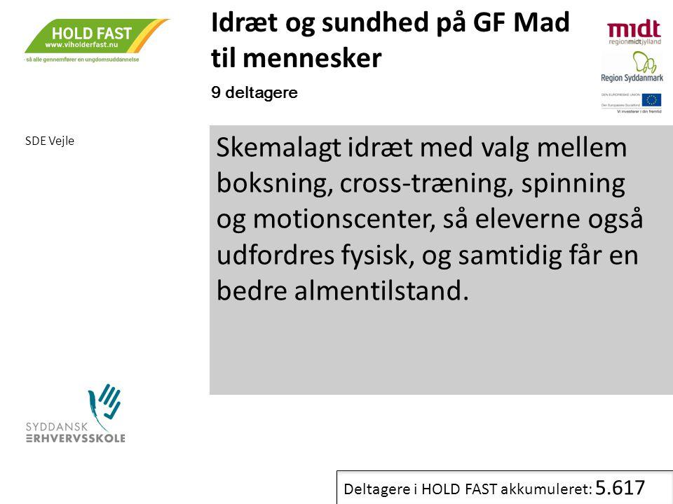 Idræt og sundhed på GF Mad til mennesker