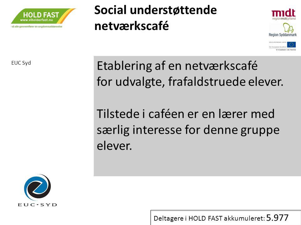 Social understøttende netværkscafé