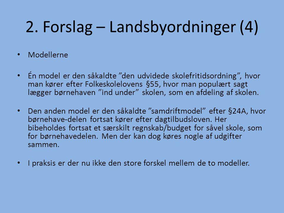 2. Forslag – Landsbyordninger (4)