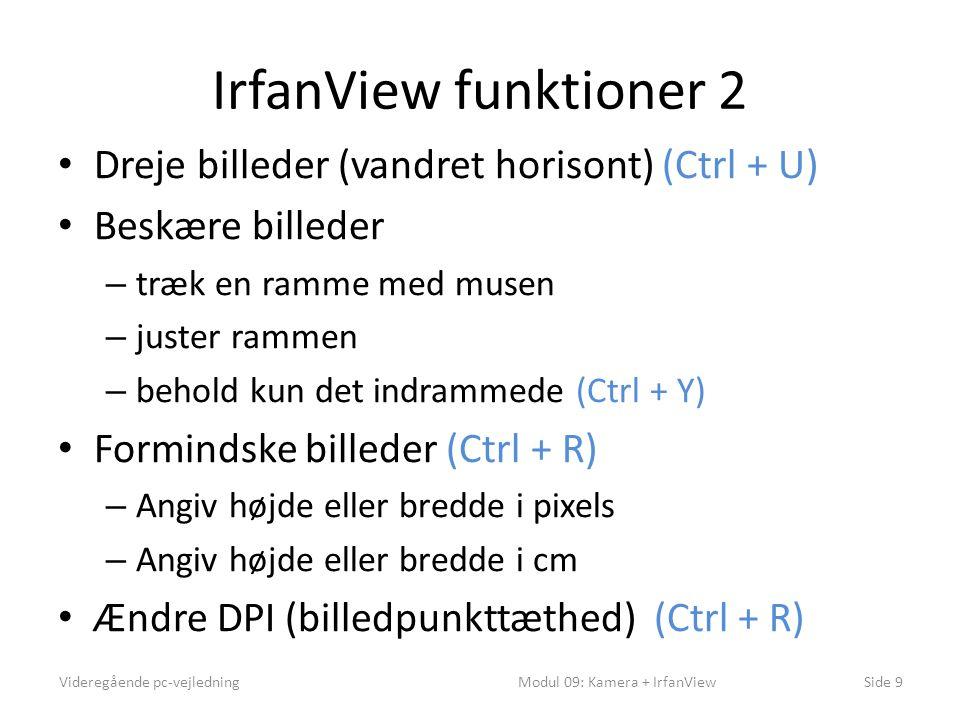 Modul 09: Kamera + IrfanView