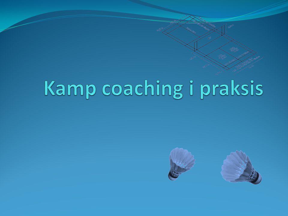 Kamp coaching i praksis