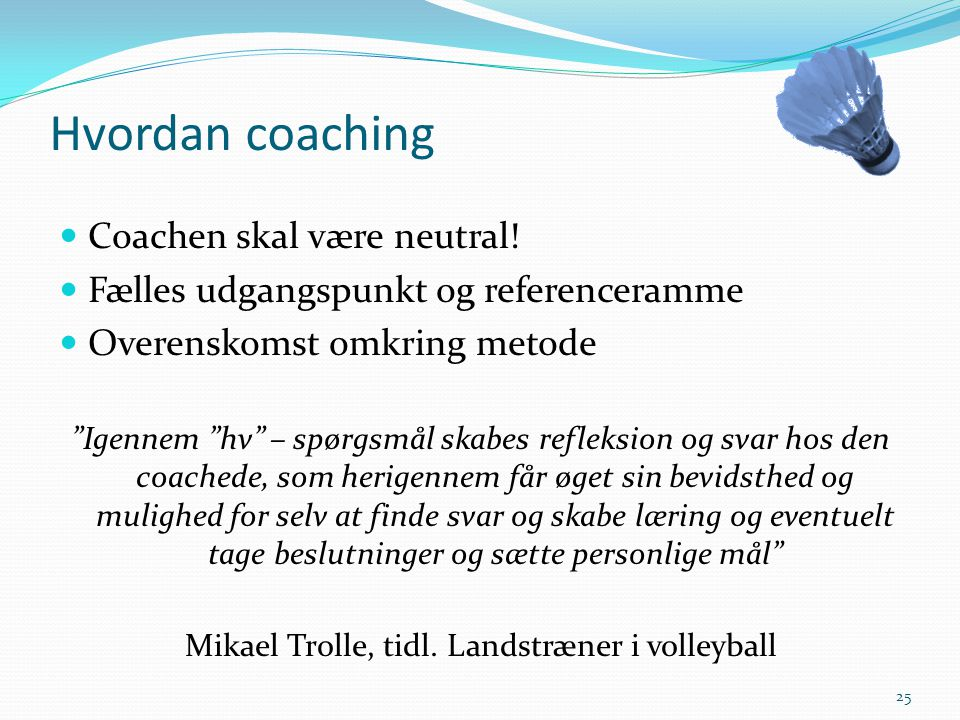 Mikael Trolle, tidl. Landstræner i volleyball