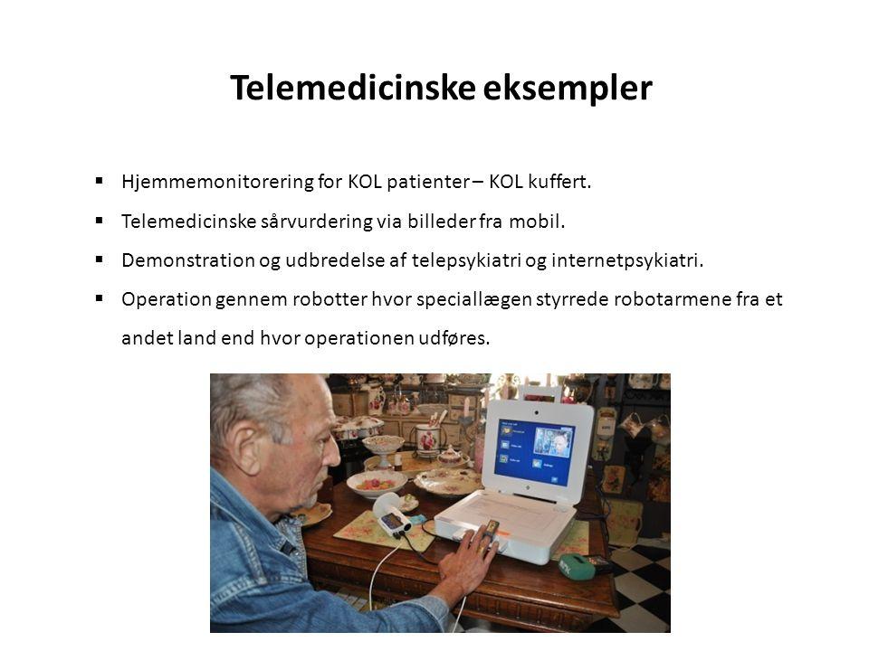 Telemedicinske eksempler