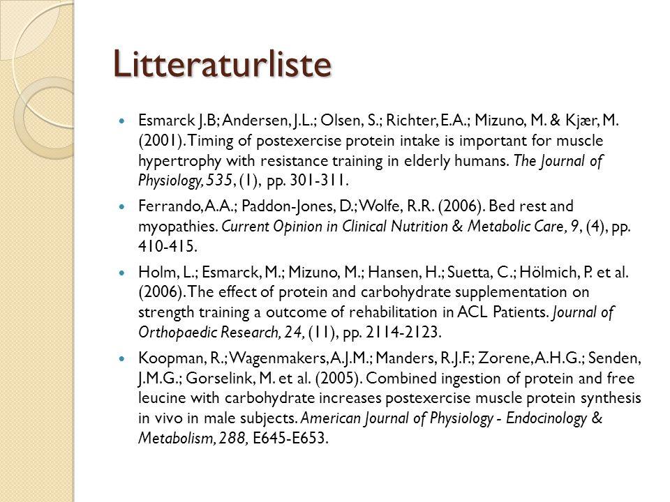 Litteraturliste