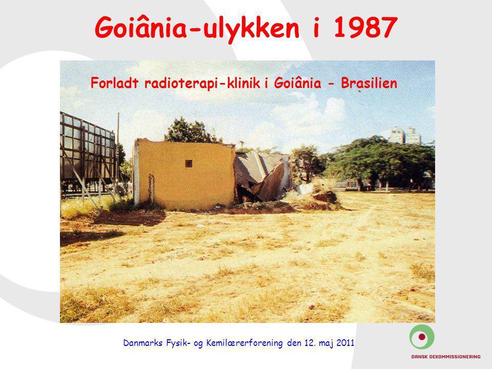 Forladt radioterapi-klinik i Goiânia - Brasilien