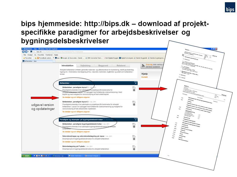 bips hjemmeside: http://bips.dk – download af projekt-