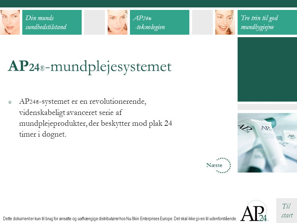 AP24®-mundplejesystemet