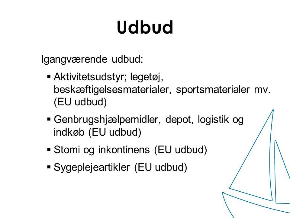 Udbud Igangværende udbud: