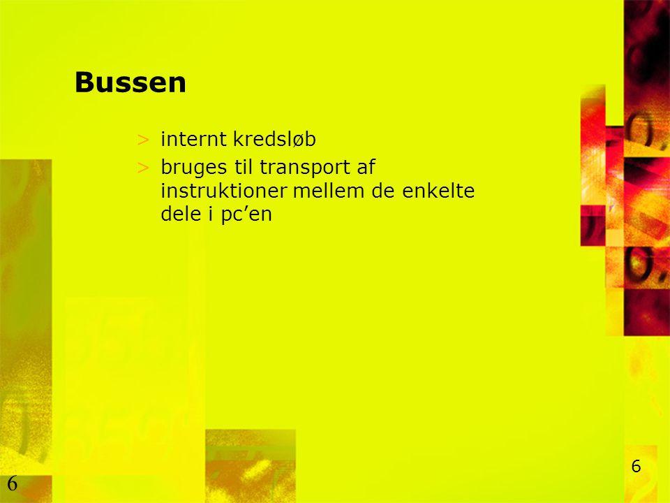 Bussen internt kredsløb